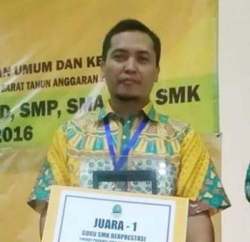 Guru SMKN 1 Leuwiliang Juara 1 Lomba Guru Berprestasi Tingkat Jawa Barat
