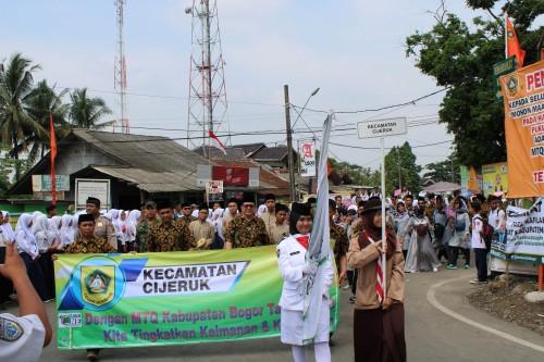 Kabupaten Bogor Raih Juara I MTQ Tingkat Provinsi
