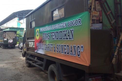 Gerakan Peduli Garut-Sumedang Insan Pendidikan Kabupaten Bogor